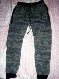 Calça militar camuflada