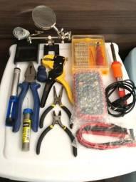 Kit Para Soldagem Em Eletrônicos
