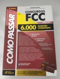 Livro Como Passar em Concursos Públicos FCC