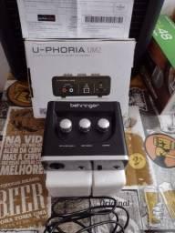 Interface de áudio Uforia um2