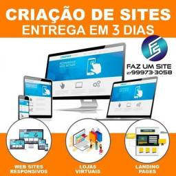 Título do anúncio: Sites e Delivery