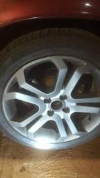 Vendo rodas e pneus separado ou troco