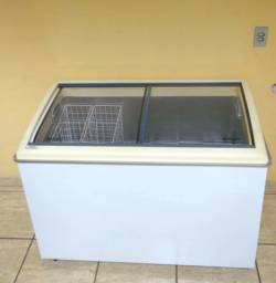 Freezer horizontal Artico Sc506 tampa de vidro
