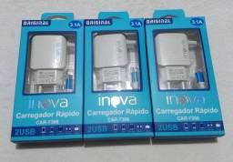 Carregador Inova 3.1 Original - Novos