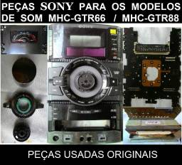 Peças Sony Genezi MHC-GTR66 / MHC-GTR88