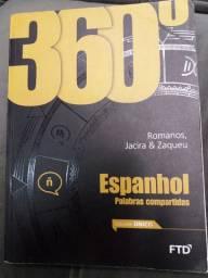 Livro Espanhol usado em bom estado