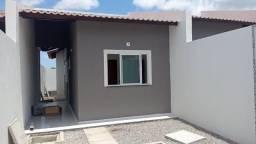 SI - Casa nova 2 quartos, sala, coz, garagem, 1ª parcela só em julho, escritura grátis