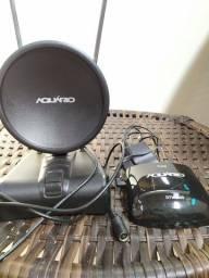 Antena interna para tv e conversor digital