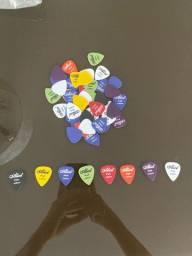 Palhetas de guitarra/violão