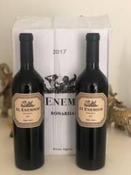 Caixa de Vinho El Enemigo Bonarda