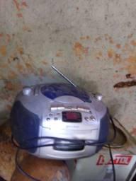 Rádio funcionando