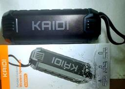 Kaidi KD-805 portátil con bluetooth verde *Original*