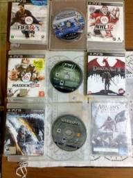 Jogos  PS3 R$25 cada (3 por 60)