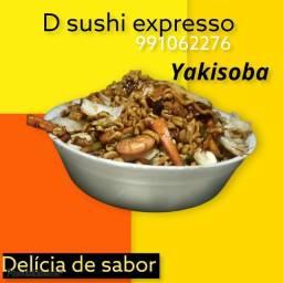 Sushi delivery *76  grande área do santarenzinho