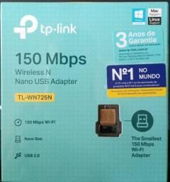 Conexão sem fio - USB Wireless Nano - TP Link - Leia a descrição