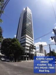 Antonio Lemos, 286m2, 4 suítes, 3vg, Últimas unidades!!!