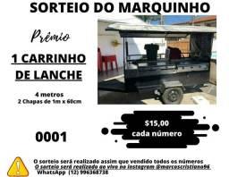 S*O*R*T*E*I*O CARRINHO DE LANCHE