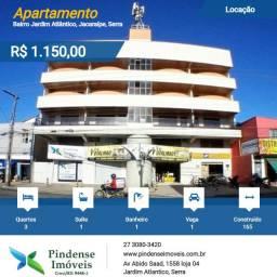 Apartamento na quadra do mar em Jacaraípe, 3 quartos