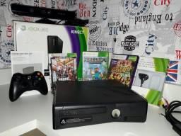 Xbox 360 Slim Desbloqueado + KINECT