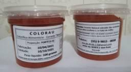 Título do anúncio: Colorau (em pó) Proporção 5:1, Artesanal, Especial, potes de 100gr