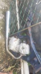 Motor e escape 125cc