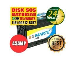 BATERIA 45 AMP MARTE LINHA EXCLUSIVA