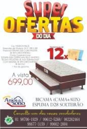 Bicama (Box + Auxiliar) */ * Frete Grátis para o Recife