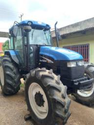 Trator Ts120 New Holland 4x4 2004