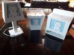 Ninchos, ninho, quadro e kit higiênico bebê