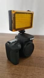 Iluminador LED para Câmera Canon - Nikon