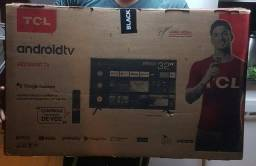 Smart tv 32 pol tcl com controle de voz e Bluetooth e wifi