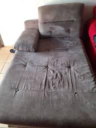 Sofá para troca em cama