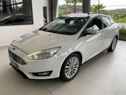 Ford Focus Titanium 2.0 Aut. 2017 Top de Linha Teto Solar Unico Dono