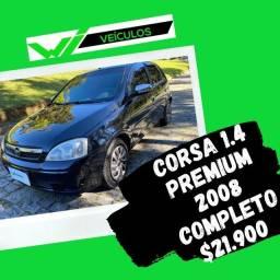 Corsa 1.4 Premium 2008 Completo
