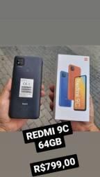 REDMI 9C 64GB R$799,00