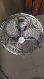 Circulador Ventilador De Piso, 3 Velocidades, Prata