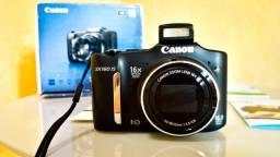 Câmera Digital Canon PowerShot SX160 IS Preta