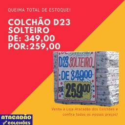 TORRA TUDO! COLCHÃO SOLTEIRO D23