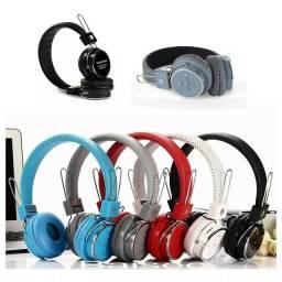 Título do anúncio: Excelente Fone Head Phone Ouvido Bluetooth Sem Fio Cartão Sd Md B-05