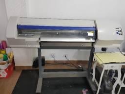 Impressora Plotter Recorte Eco Solvente Roland Sp 300 V Top Sp300v