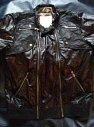Jaqueta nova ZARA masculina de couro sintético comprada na Espanha