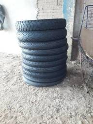 Vendo pneus de moto 35 reais montado - 2019