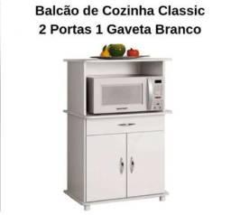 Otima Oferta de Balcão com Gaveta e Portas Objetos Novo Apenas 289,00