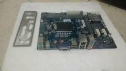 Placa mãe 1155,DDR3 com garantia e espelho
