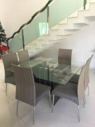 Jogo de mesa com cadeiras - Fabricante Aço Nobre