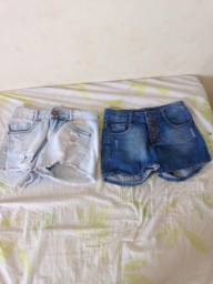 Short jeans 12anos
