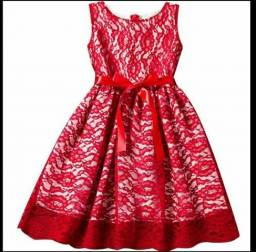 Vestido infantil importado