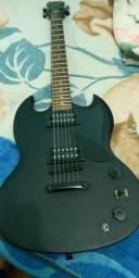 Guitarra ephiphone sg, mais pedal g1x zoom