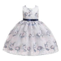 Vestido infantil de princesa importado