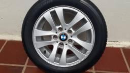 Roda com pneu da BMW 320 ano 2009